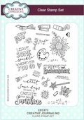 Creative Expressions - Creative Journaling A5 Clear Stamp Set - CEC873